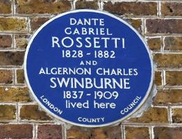 London Blue Plaque Chelsea Walk